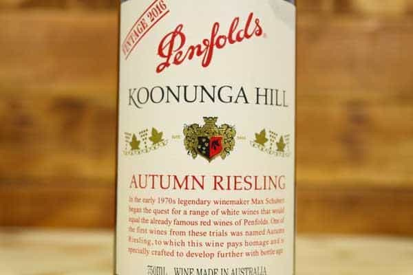 penfolds autumn riesling